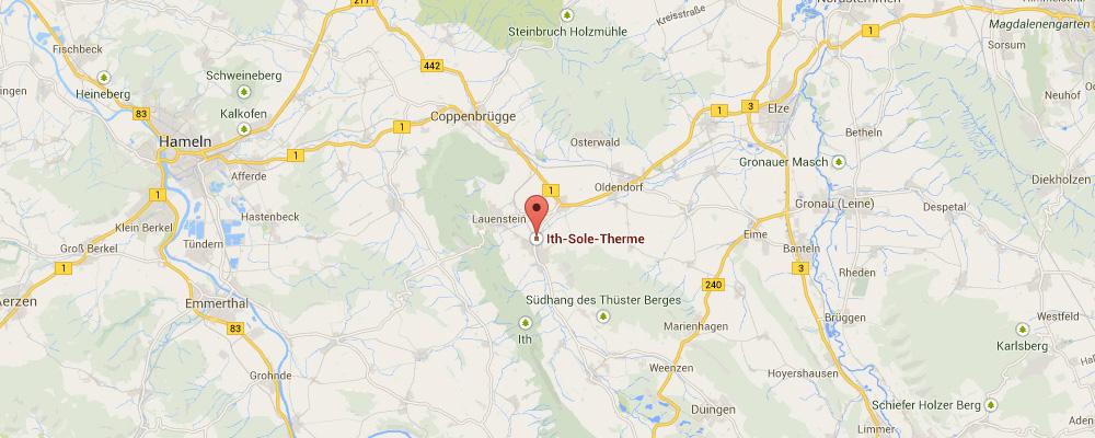 So gelangen Sie am schnellsten nach Salzhemmendorf zur Ith Sole Therme
