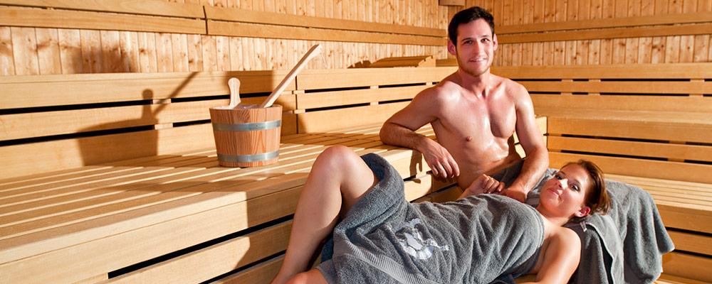 In der Augustus Sauna wohlfühlen